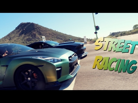 2017 Gt R Guaczilla Vs Supercharged Mustang Crazy Launch Control