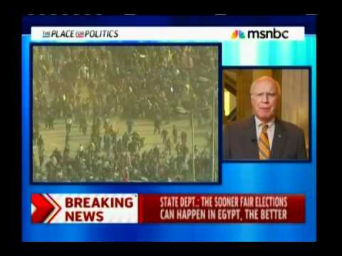 Sen. Leahy - No More Aid For Egypt If Violence Continues