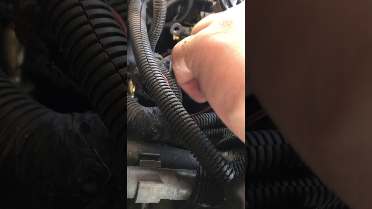 Glow Plug Relay Test And Replace 1999 2002 73 Powerstroke Youtube Ford 7 3 Wiring