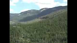 Bighorn Mountains, Wyoming in 94 Seconds