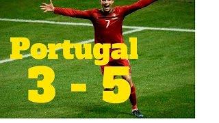 Polonia 1 vs Portugal 1 (3 - 5)   Resumen y Penales  Cuartos de Final Eurocopa 2016