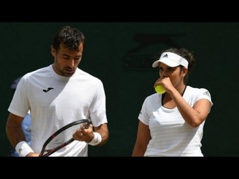 Wimbledon 2017: Sania Mirza knocked out, Bopanna advances