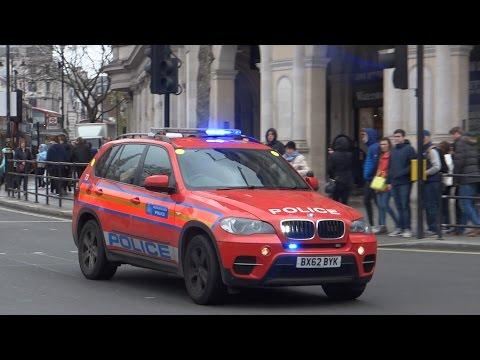 Metropolitan Police - BMW X5 Armed Response Vehicle On An Emergency Call