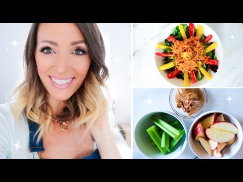 What I Ate Today Vegan - Easy Healthy Meals