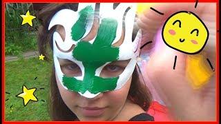Makar paint masks for  Family (Daddy Finger)