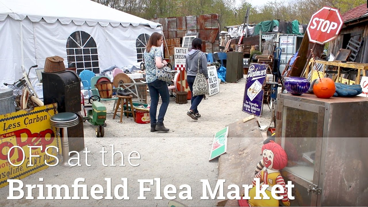 Ofs at the 2017 brimfield flea market youtube for Brimfield flea market