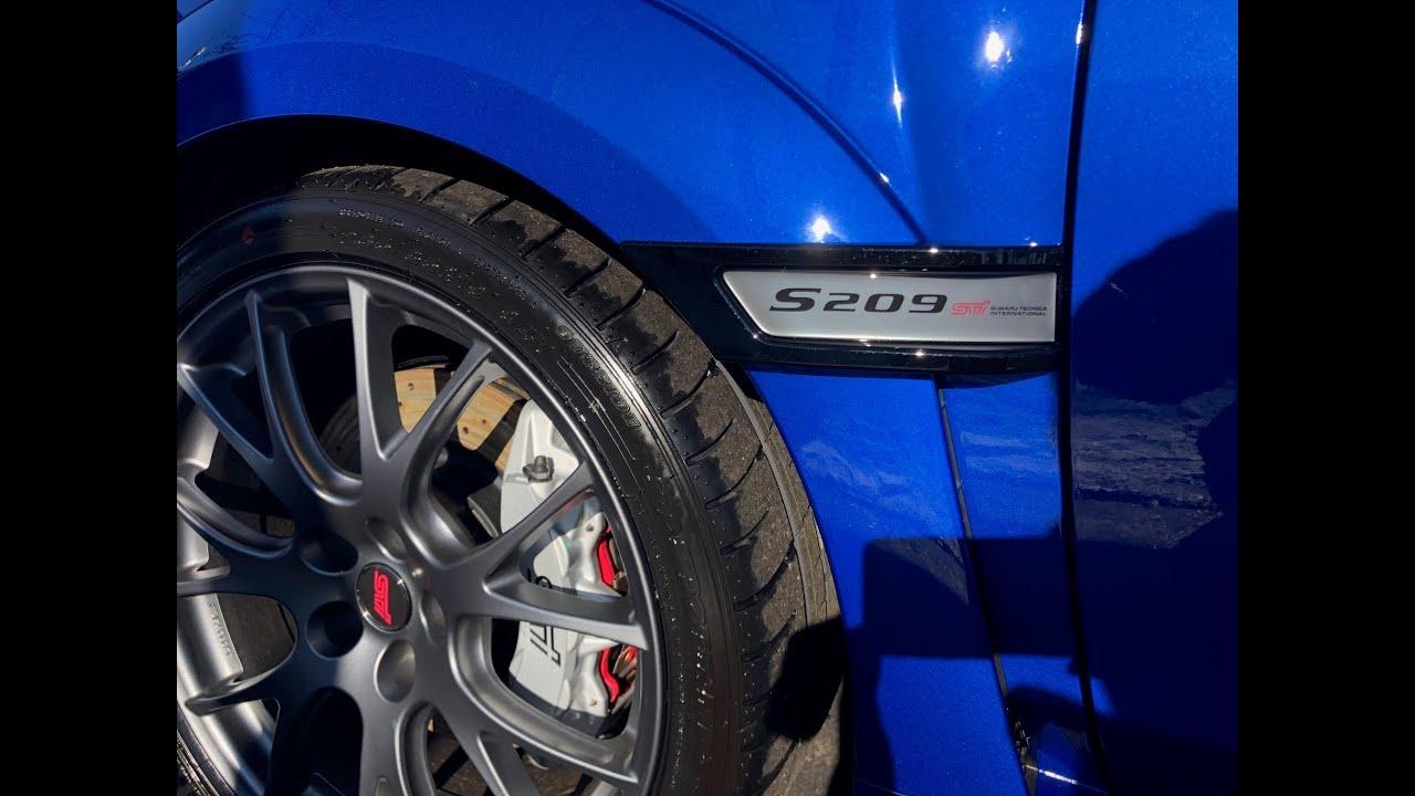 Subaru STi S209 Introduction