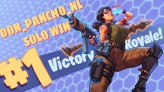 Fortnite SOLO Victory Royale - Battle Royale - Season 3