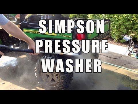 Simpson MS31025HT MegaShot 3100 PSI Pressure Washer - Review
