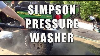 Simpson MS31025HT MegaShot 3100 PSI Pressure Washer - Review