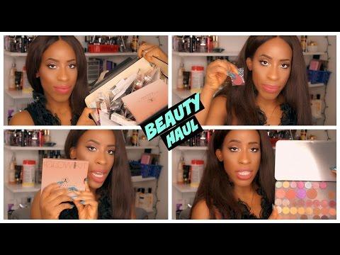 Huge Beauty Haul! Sephora, Anastasia, Makeup Geek, TooFaced, PUR and More