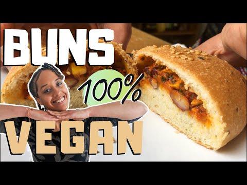 bun-100%-vegan-pour-vos-burgers-et-buns-fourrés-|-recette-vegan-pain-burger-|-spicynthia