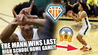 Tre Mann WINS LAST HIGH SCHOOL HOME GAME EVER!! | The Villages are ONE WIN Away from States