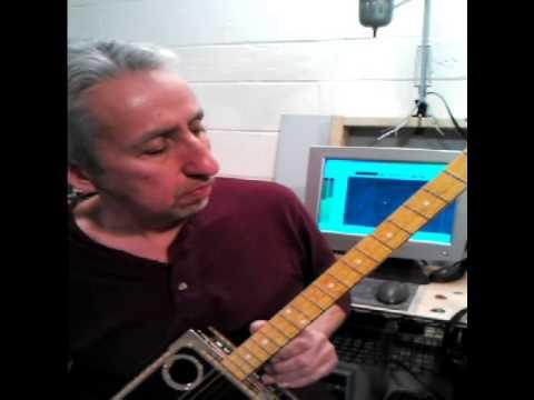 4 string cigar box guitar