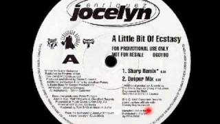 A Little Bit Of Ecstasy (Deeper Mix) - Jocelyn Enriquez - Classified Records (Side A2)