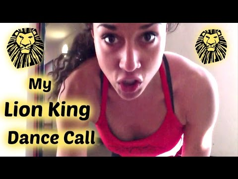 S1E18 -  My Lion King Audition Dance Call (London)