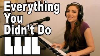 Everything You Didn't Do - Jamie Cullum Cover by Missy Lynn