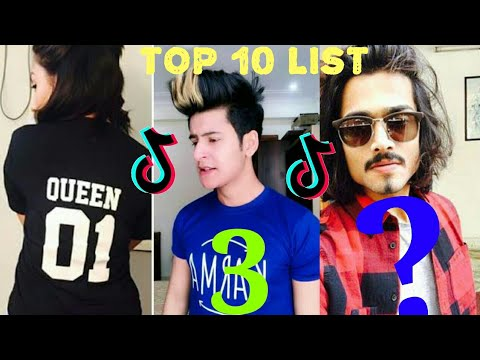 List of Top 10 Tik Tok Users in India | Most Famous Tik Tok Users India |  Popular Tik Tok Creators