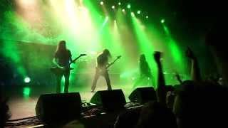 Amon Amarth - As Loke Falls (live Ljubljana 2014) 1080p
