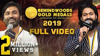 OFFICIAL FULL VIDEO: Behindwoods Gold Medals 2019 Full Show! Non-stop Entertainment! 7th Edition!