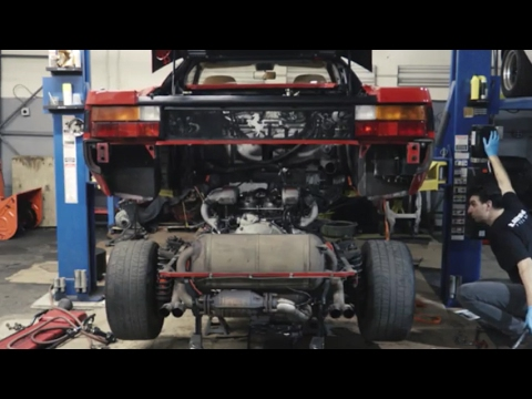 Ferrari Testarossa Major Service Preview