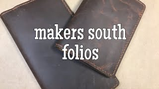 Makers South Folio Review (Oil Tan Leather)
