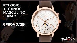 Relógio Technos Masculino Calendário Lunar 6P80AD 2B - Eclock ... fb7c2b1dce