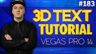 📽MOTION TRACK TEXT & IMAGES IN SONY VEGAS PRO 14! ATTACH OBJECTS TO WALLS & FLOORS IN VEGAS PRO! 📽.