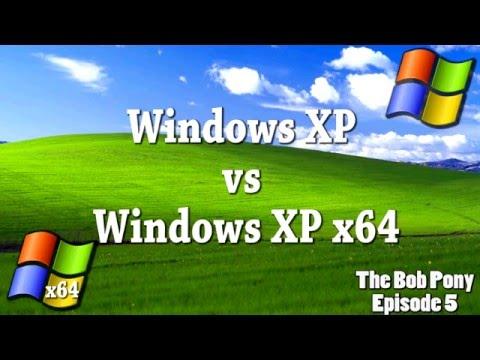 Windows XP Vs Windows XP X64
