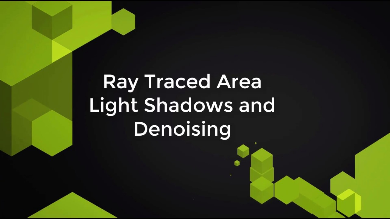 Next gen lighting technologies - voxelised, traced, and everything