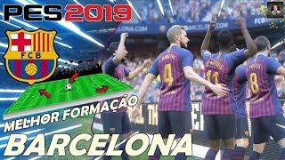 PES2019 - COMO JOGAR COM O BARCELONA / TUTORIAL FORMAÇÃO / TIKI TAKA / DICAS E GAMEPLAY ONLINE #1