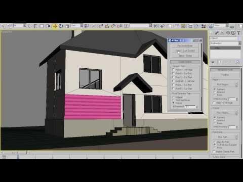 AvizStudioTools - ATiles Quick Tip - Wooden Facade