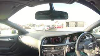 360° All Round Interior View of a 2011  Audi A5 2 0 TDI S Line Sportback Quattro 5dr MJ11BGZ
