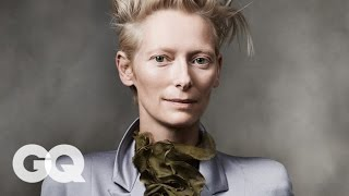 Tilda Swinton's Favorite Movie Is Not What You'd Expect - GQ 2014 Men of the Year