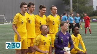 Meet the Pararoos, Australia's national football team for people with disabilities | 7.30