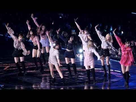 190115 트와이스(TWICE) YES Or YES + Dance The Night Away  [4K] 직캠 (2019 서울가요대상) By Mera