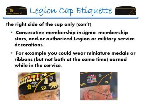 The American Legion Cap