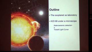 Colloquium October 10th, 2013 -- Exoplanet Validation by Asteroseismology
