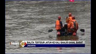 Download Video Balita 2 Tahun Jatuh ke Kali Banjir Kanal Barat Tanah Abang Saat Tidur Pulas - LIP 22/01 MP3 3GP MP4