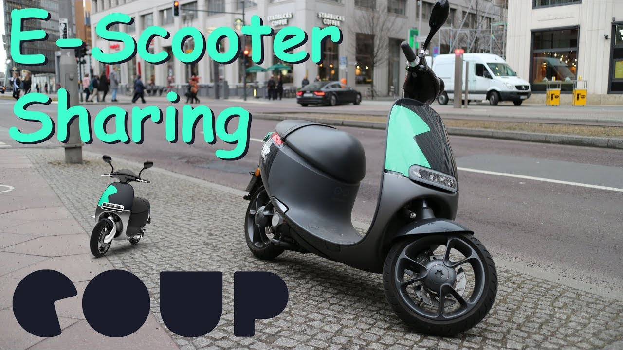 coup e scooter sharing berlin gogoro inkl. Black Bedroom Furniture Sets. Home Design Ideas