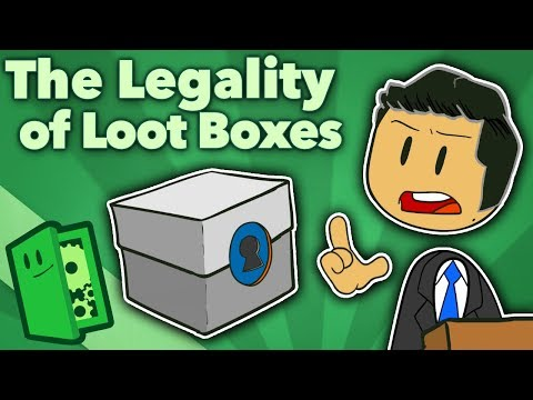 The Legality of Loot Boxes - Designing Ethical Lootboxes: II - Extra Credits