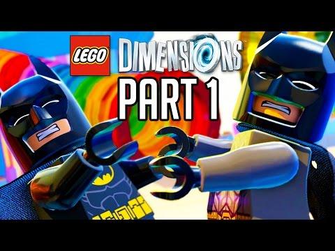 LEGO Dimensions Walkthrough Part 1 - Prologue/Batmobile!! (Gameplay PS4/XB1/Wii U 1080p HD)
