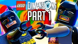 LEGO Dimensions Walkthrough Part 1 - Prologue/Batmobile!! (Gameplay PS4/XB1/Wii U 1080p HD)