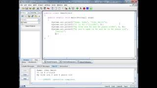 Java Basics - printf