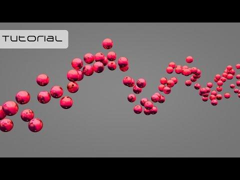 c4d how to make particles follow spline
