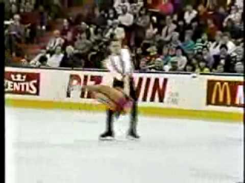 Susan Wynne-Joseph Druar FD 1990 World Figure Skating Championships