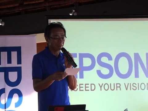 Toshimitsu Tanaka of Epson Philippines