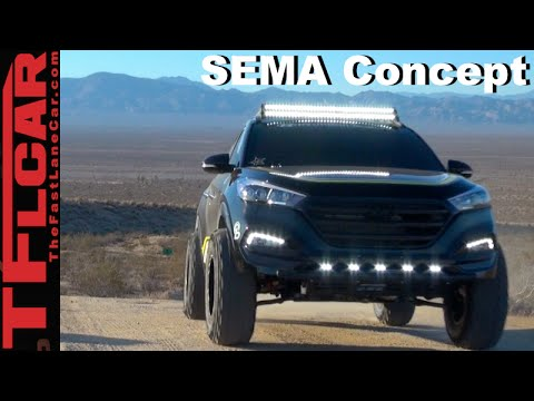 Exclusive 2016 Hyundai Tucson Rockstar Performance Garage Sema