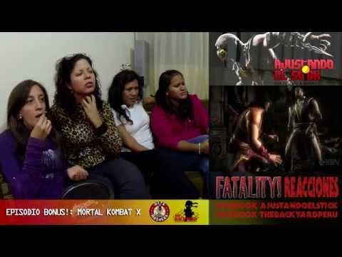 Ajustando El Stick - Episodio Bonus #01: Mortal Kombat X Reacciones de las chicas