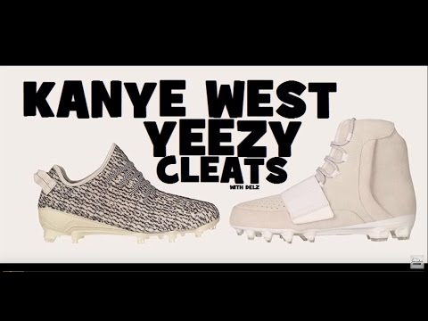 Kanye West Adidas Yeezy 350 y 750 cleats YouTube